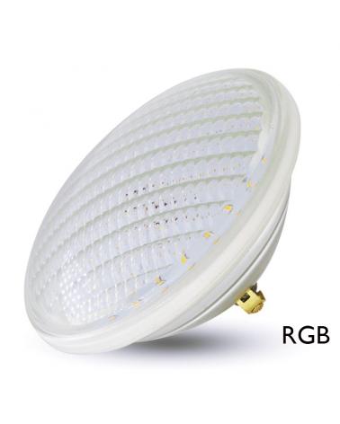 Lámpara sumergible PAR56 LED IP68 18W RGB ON/OFF 12V