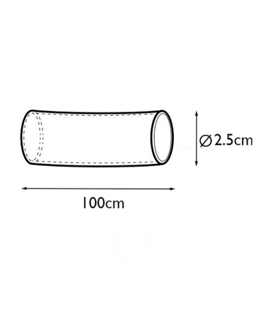 Termoretractil 25mm para conector Smart Link 1 metro