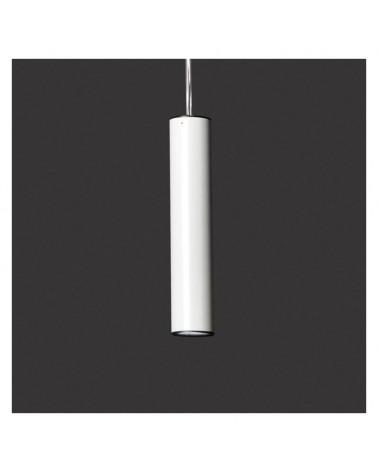 Lámpara de techo cilindro de acero 4cm regulable LED 5W 2700K 500Lm