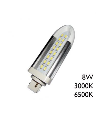LED PL bulb 8W G24d 900Lm. 35mm