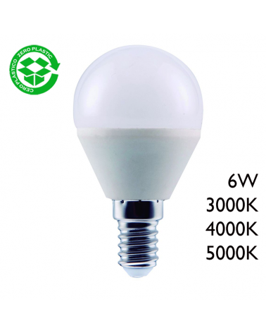 LED Golf ball bulb 6W E14