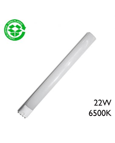 LED PLL 2G11 bulb 22W 6500K 1750Lm.