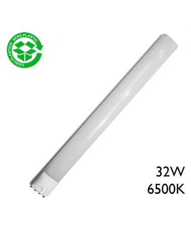 LED PLL 2G11 bulb 32W 6500K 2550Lm.