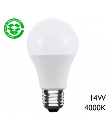 LED Standard Bulb 14W E27 4000K A+