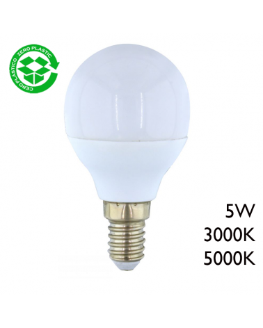 LED Golf ball bulb 5W E14 320Lm