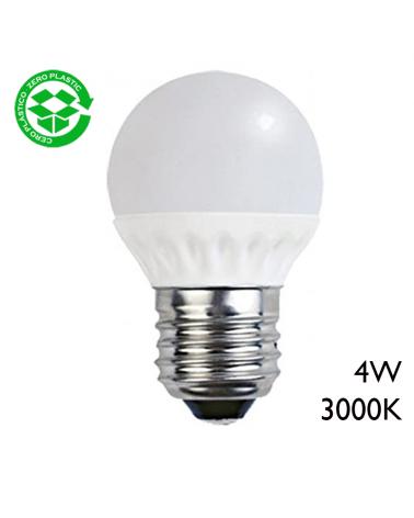 LED Golf ball bulb 4W E27 3000K 260Lm