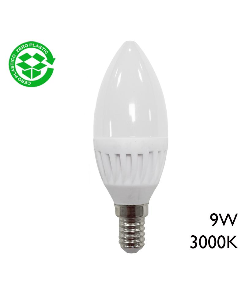 LED Candle bulb 9W E14 3000K