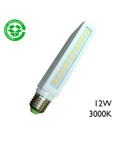 PL LED bulb 12W E27 3000K 1090Lm.