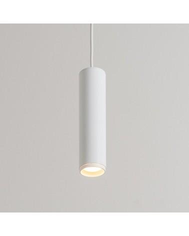 Lámpara de techo cilindro de acero 5,5cm regulable GU10