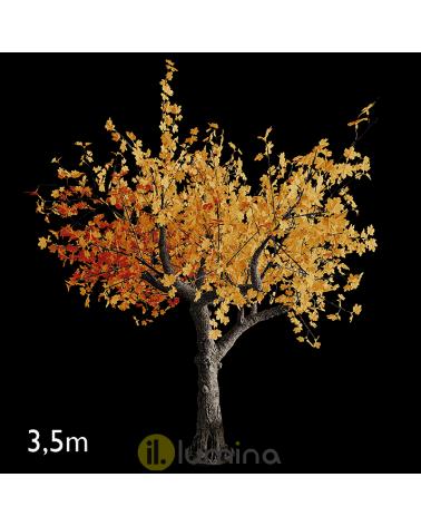 Árbol de otoño de 3,5 metros con 1664 luces LED IP44 24V