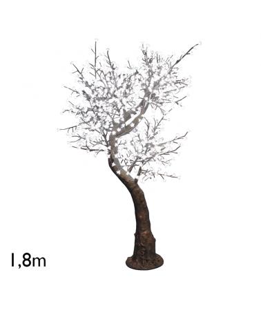 Árbol Cherry Blossom de 1,8 metros con 800 luces LED IP44 24V