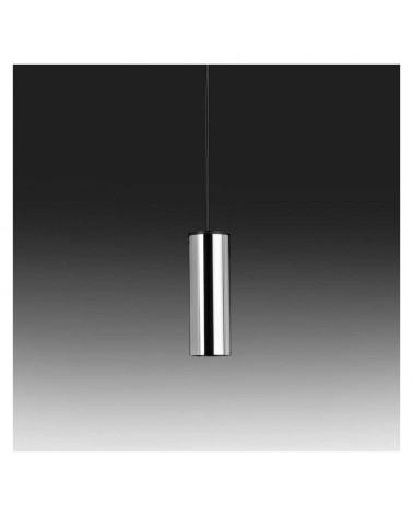 Lámpara de techo cilindro de zamak y aluminio 7cm regulable GU10 monofásica