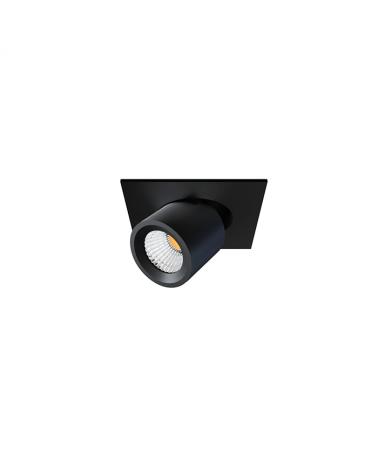 Mini proyector negro mate de Aluminio 5,7cm  45º  Switch 2700K/3000K/4000K