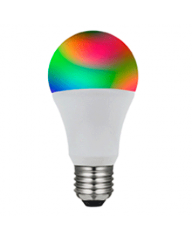 Bombilla inteligente SMART standard 60 mm. bluetooth LED E27 Regulable 9W multitono 720 Lm.