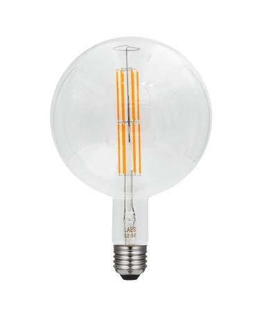 Bombilla Vintage Globo 200 mm. filamentos LED Regulable LED E40 8W 2200K 1400 Lm.