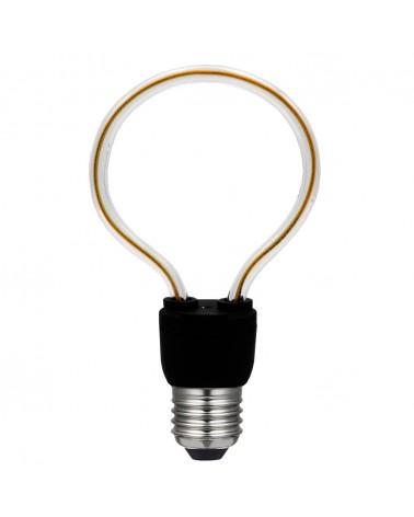 Bombilla silueta Globo 85 mm. LED Regulable E27 8W 2200K 480Lm.