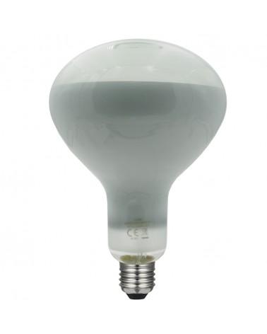 Bombilla Reflectora 125 mm. LED Regulable 8W E27 90º 3000K 780Lm.