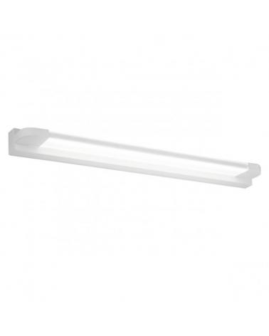 Aplique 56cm acrílico y metal blanco para baño LED 15W 1500LM 4000K