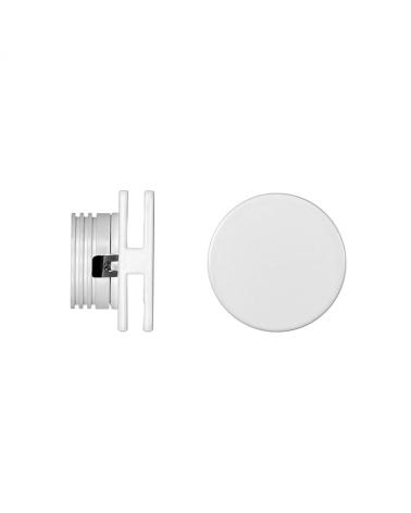 Señalizador redondo blanco 5cm Aluminio de interior 4W LED 3000K 60 Lm.