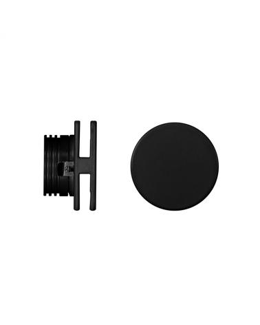 Señalizador redondo negro 5cm Aluminio de interior 4W LED 3000K 60 Lm.