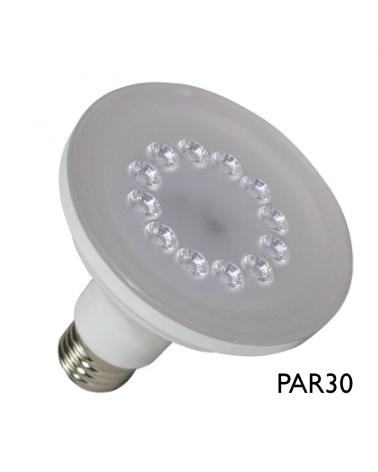 Bombilla 96mm PAR30 LED SMART 10W E27 230V