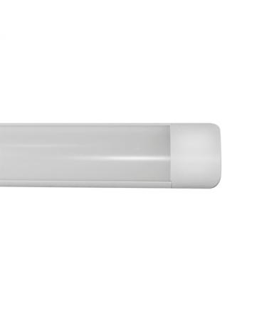 Lámpara de techo LED 25W 61,30cms luz blanca 4000K 2945Lm. acabado blanco