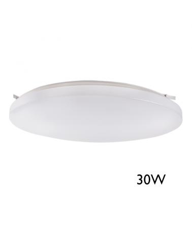 Downlight Plafón 38cm LED de superficie 20W con sensor de presencia y luminosidad