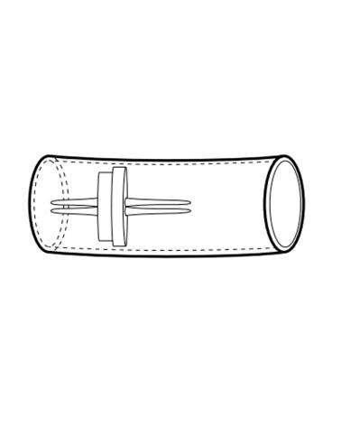 Conector estanco tubo luminoso 13mm