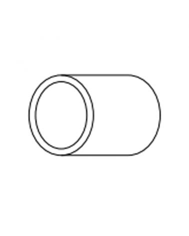 Tapa final para tubo Flexilight LED 13mm.