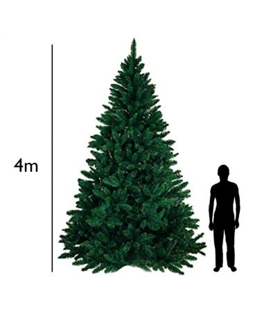 Arbol de Navidad gigante verde de 4 metros