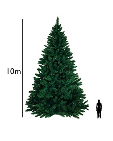 Arbol Navidad extra gigante verde de 10 metros de altura