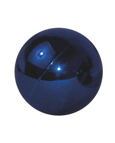 Bola Navidad en azul brillo