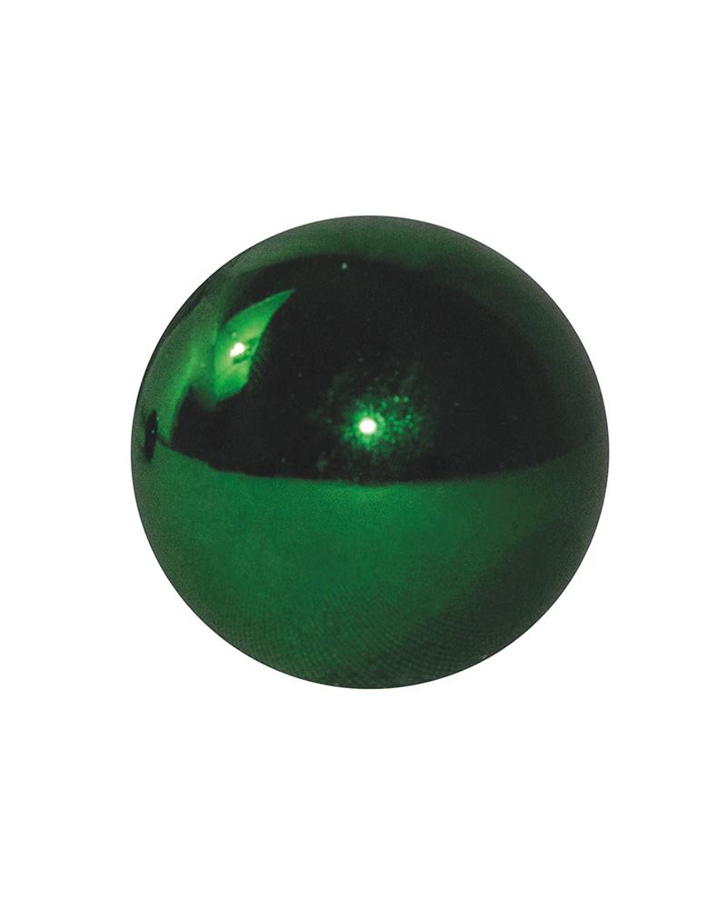 Bola Navidad  verde brillo