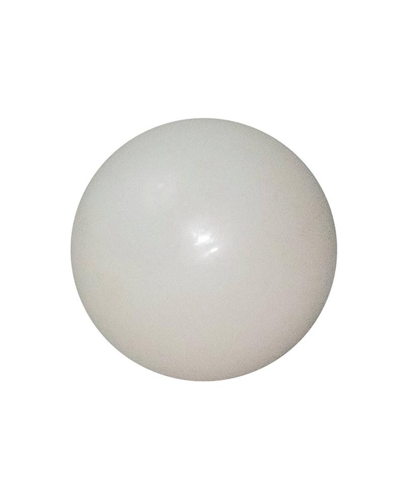 Bola Navidad blanco brillo