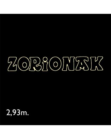 Cartel Zorionak de 2,93 metros LEDs IP65 47,5W