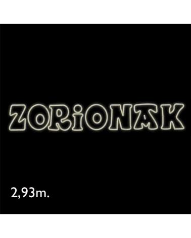 Cartel Zorionak doble neon de 2,93 metros LEDs IP65 270W