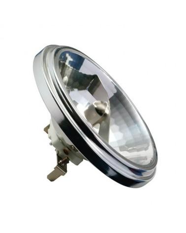 Lámpara halógena AR111 plateado 50W G53 regulable