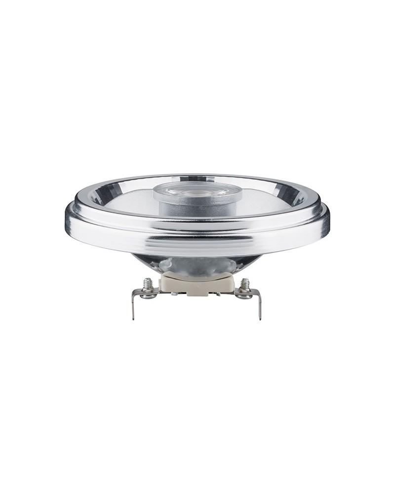 Lámpara reflector LED AR111 8W G53 24° Blanco cálido