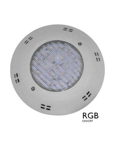 Luminaria de superficie sumergible IP68 LED 22W RGB ON/OFF 12VAC