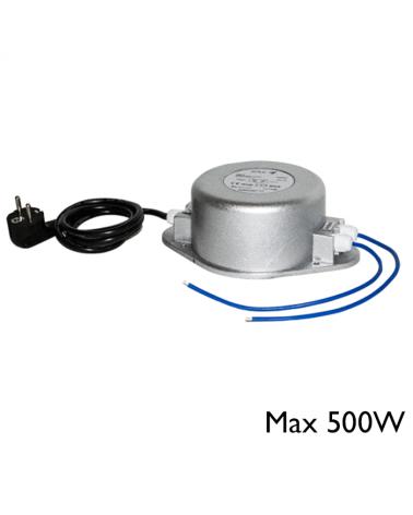 Transformador magnético máx. 500W 12V ac IP65.