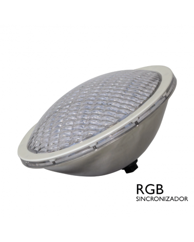 Lámpara sumergible PAR56 LED IP68 18W RGB SINCRO 12V