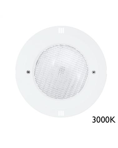 Luminaria de empotrar sumergible IP68 LED 20W 3000K 12VAC 2.059 Lm.