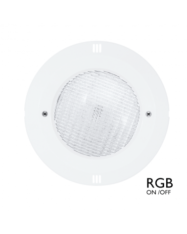 Luminaria de empotrar sumergible IP68 LED 18W RGB ON/OFF 12VAC