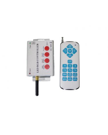 Controlador RGB con mando, máximo 20 luminarias para Referencia 200-0050