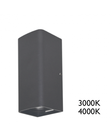 Aplique LED 7W IP65 para exteriores de luz directa