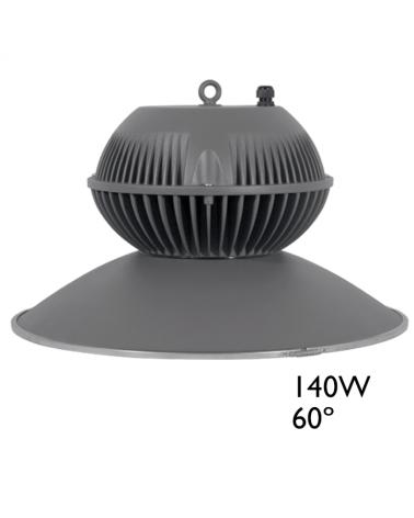 Campana LED IP65 140W 5000K 60º 17.654 Lúmenes 50.000h.