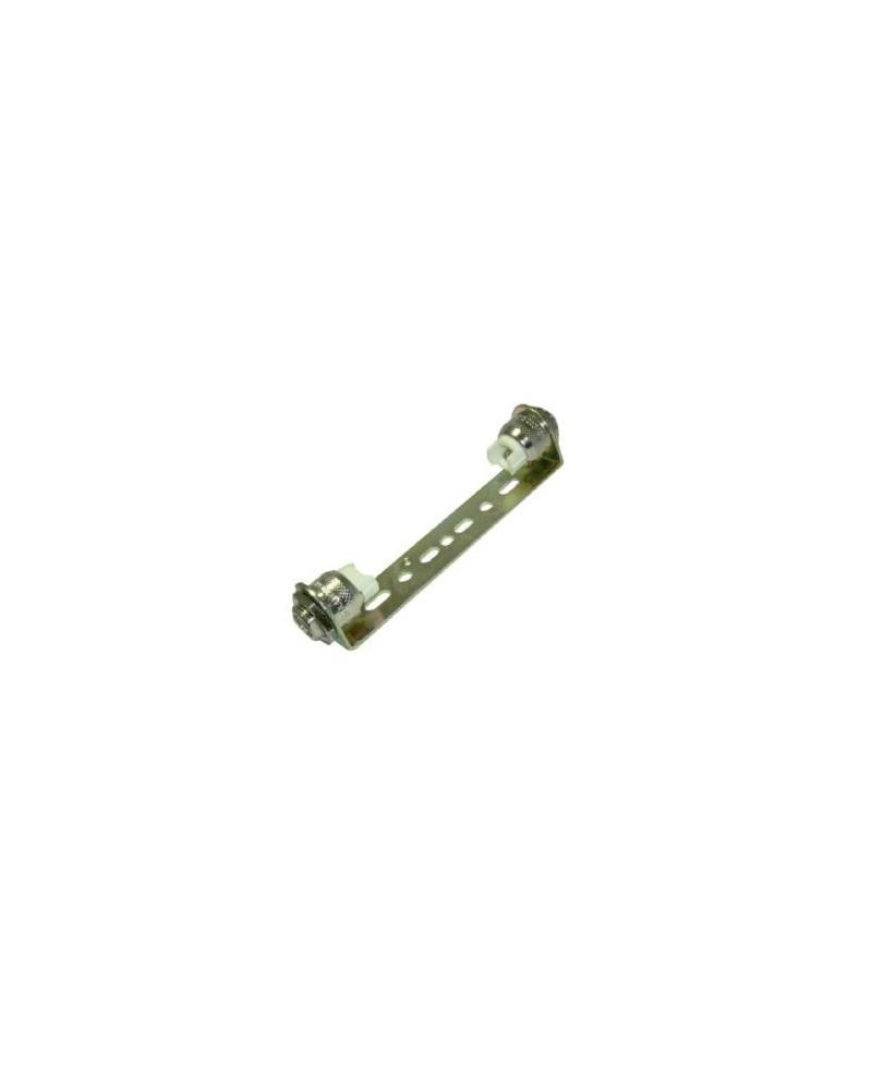 Doble casquillo R7s J78 con cable de teflón para lámparas lineales 78mm