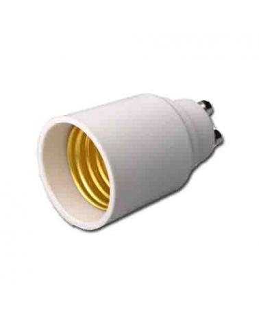 Adaptador de casquillo GU10 a rosca E27