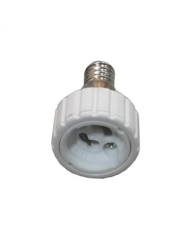 Adaptador de rosca E14 a casquillo GU10