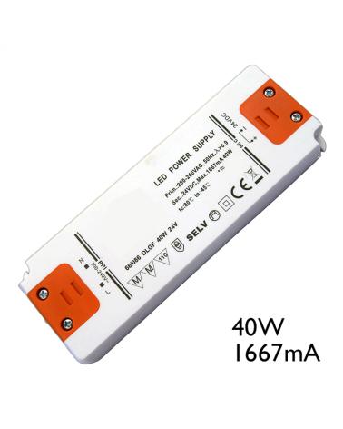 Driver LED de corriente constante 40W 1667mA para conexión de LEDs